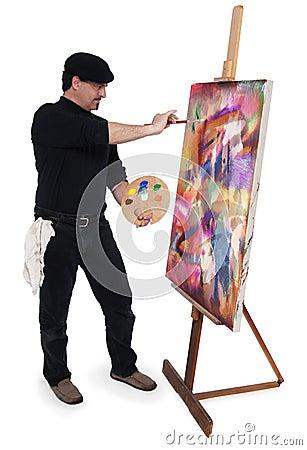 De kunstenaar