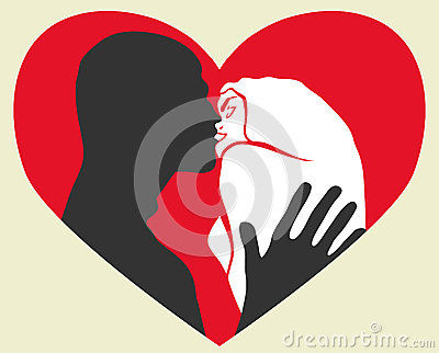 De kus van de hartstocht