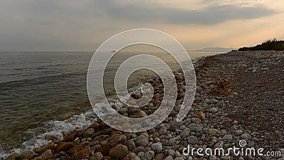 De kust van de urbanisatie GLB en corp stock videobeelden