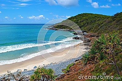 De kust van Queensland