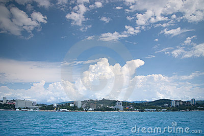De kust van Sotchi