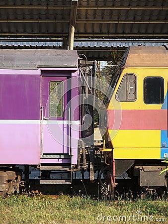 De lading van de trein
