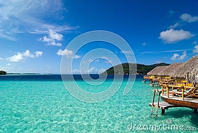 De Lagune van Bora van Bora