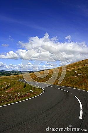De lange en Windende Weg