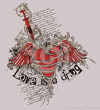 De liefde is een drug
