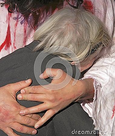 De liefde van Jesus Redactionele Foto