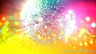 De lijn van de discobal