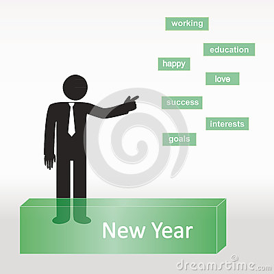De lijst van het nieuwjaar