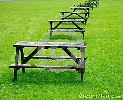 De lijsten van de picknick