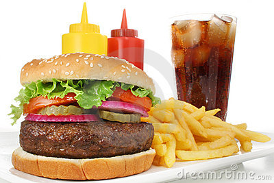 De Maaltijd van de hamburger
