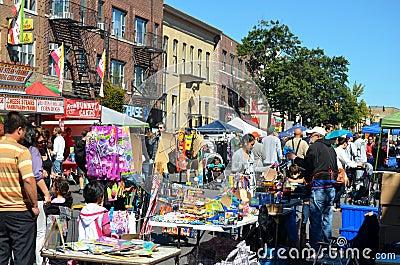 De Markt van de straat Redactionele Stock Afbeelding