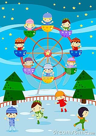 De markt van de winter