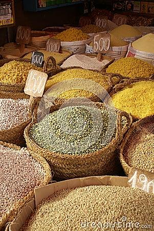 De Markt van Marokko