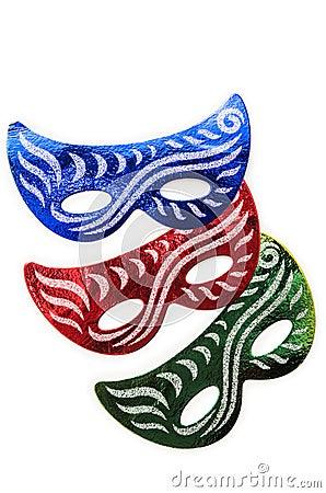 De maskers van Carnaval