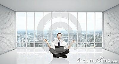 De meditatie van de mens