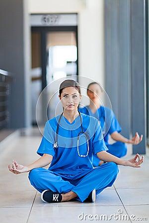 De meditatie van Nures