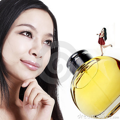 De meisjes van het parfum