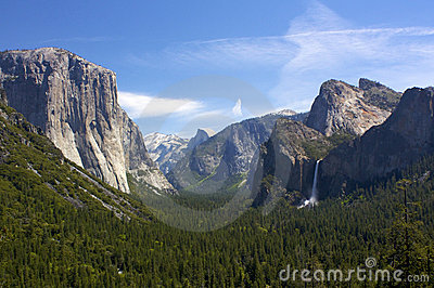 De Meningen van de Vallei van Yosemite