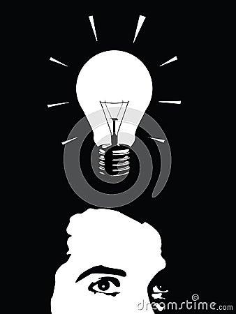 De mens van het idee