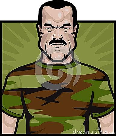 De Militair van het leger