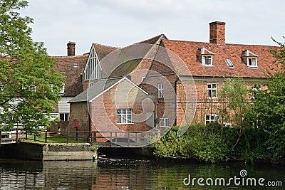 De molen Suffolk van Flatford