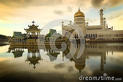 De Moskee van Brunei