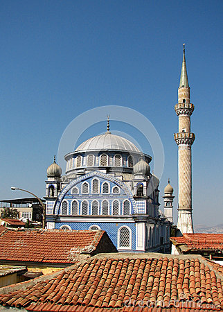 De moskee van Camii van Fatih in Izmir