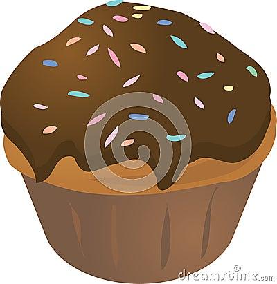 De muffin van Cupcake