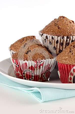 De muffins van zemelen