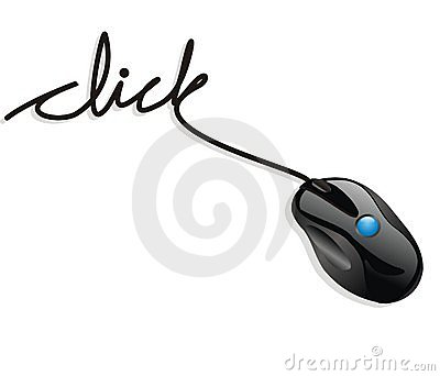 De muis klikt