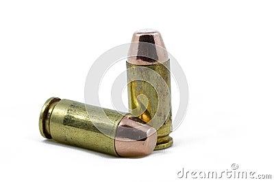 De Munitie van het pistool