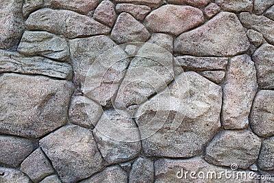 De muurtextuur van de steen
