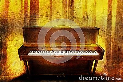 De muziek van de piano