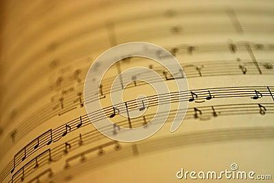 De Muziek van het blad