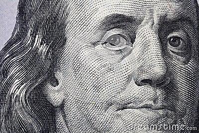 DE NIEUWE MUNT VAN DE 100 V.S. VAN DE DOLLARrekening