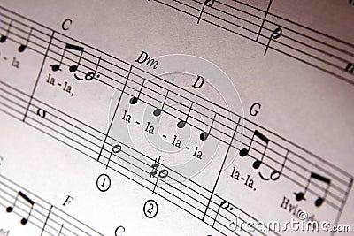 Muzieknota s