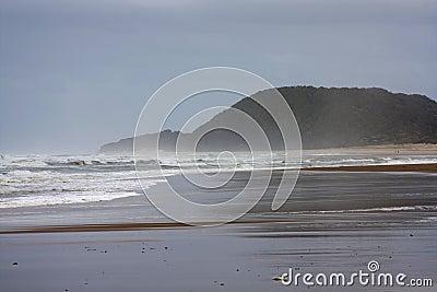 De oceaan van Zuid-Afrika
