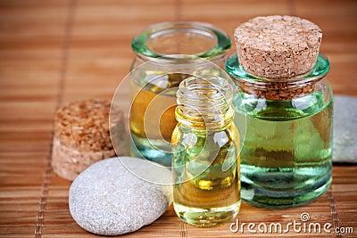 De olie van Aromatherapy