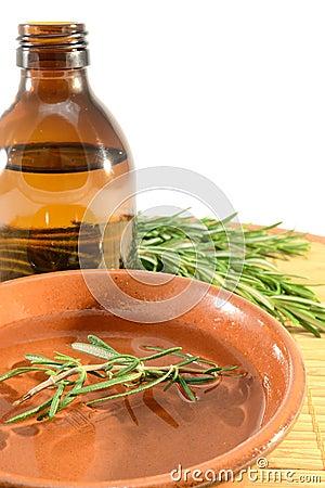 De olie van Rosemary