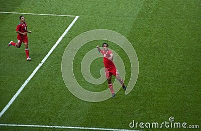 De Olympische Voetbal Giovani Dos Santos van Mexico Redactionele Foto