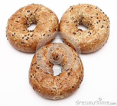 De ongezuurde broodjes van het ontbijt