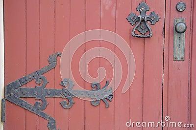 De oude deur