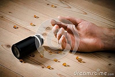 De overdosis van vitaminen