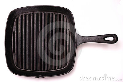 De Pan van de grill