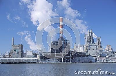 De papierfabriek van het Kamp van de Unie Redactionele Afbeelding