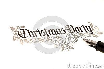 De Partij van Kerstmis nodigt uit
