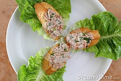 De pastei van de tonijn