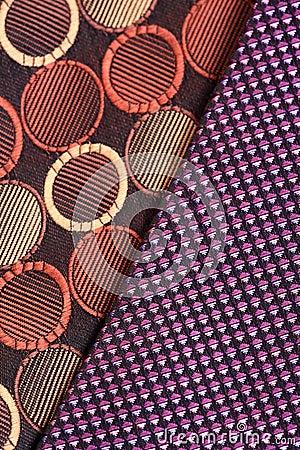 De patronen van de doek