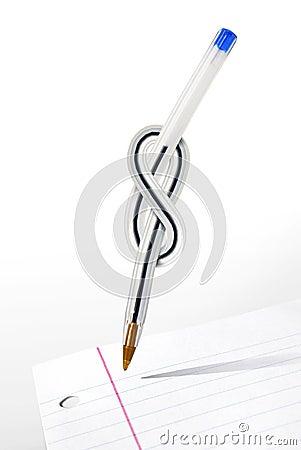 De Pen van de knoop
