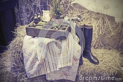 De picknick van het huis